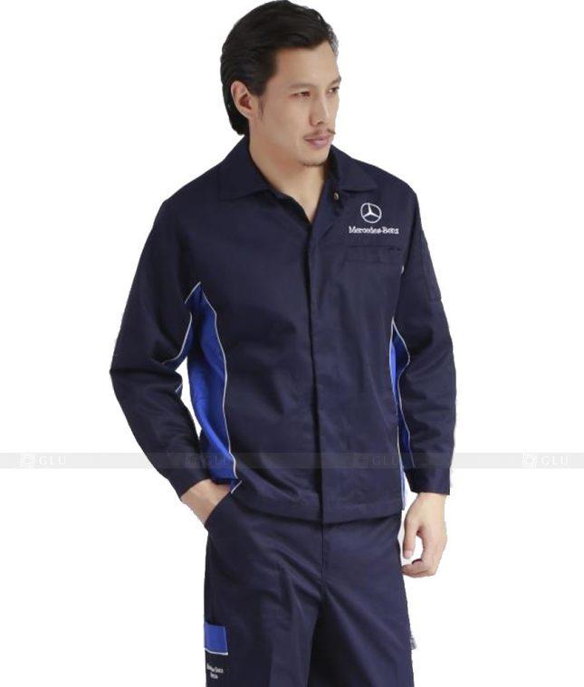 Dong phuc cong nhan GLU CN1108 mẫu áo công nhân