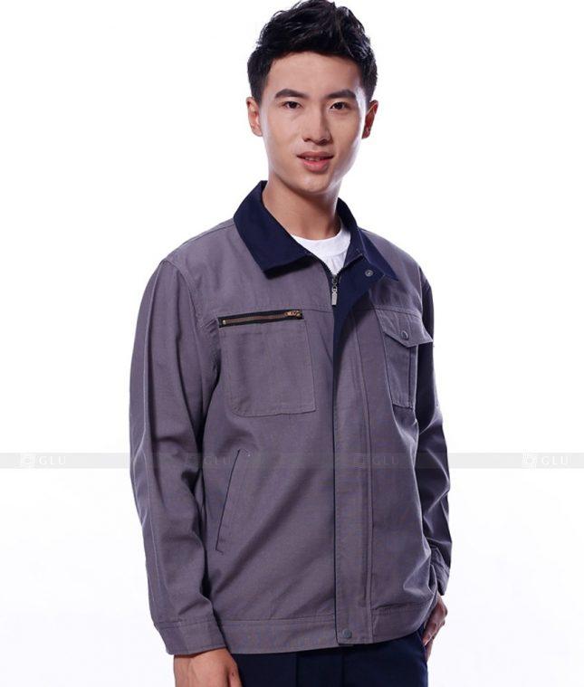 Dong phuc cong nhan GLU CN1110 mẫu áo công nhân