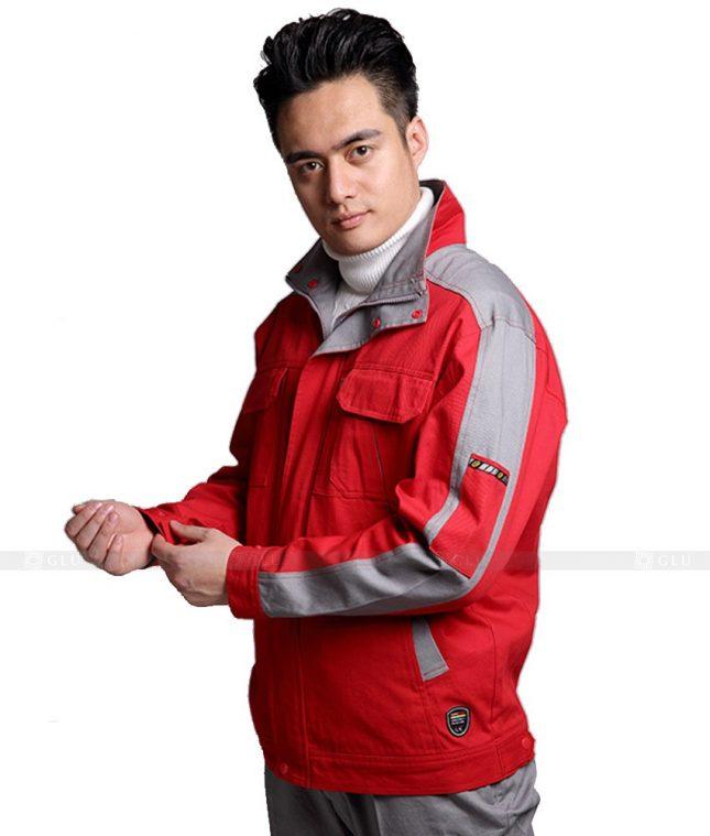 Dong phuc cong nhan GLU CN1117 mẫu áo công nhân