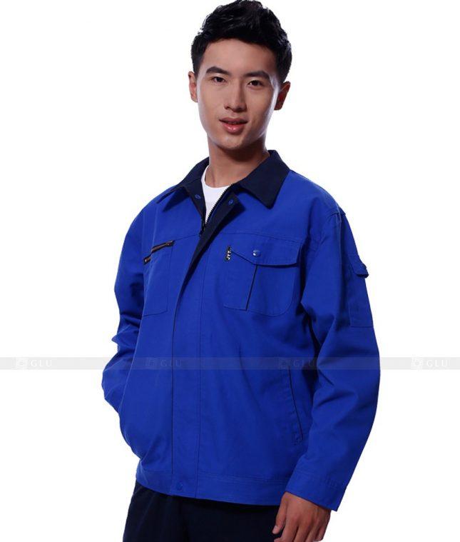 Dong phuc cong nhan GLU CN1118 mẫu áo công nhân