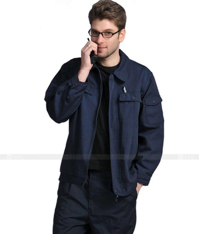 Dong phuc cong nhan GLU CN1120 mẫu áo công nhân