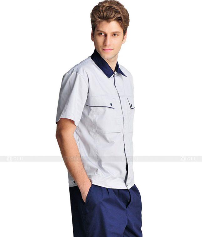 Dong phuc cong nhan GLU CN1121 mẫu áo công nhân