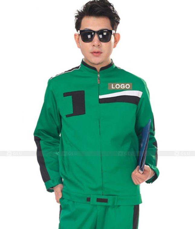 Dong phuc cong nhan GLU CN1122 mẫu áo công nhân