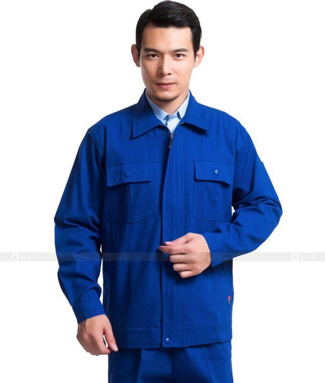 Dong phuc cong nhan GLU CN1124 mẫu áo công nhân