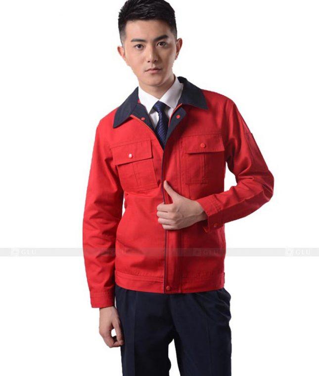 Dong phuc cong nhan GLU CN1125 mẫu áo công nhân