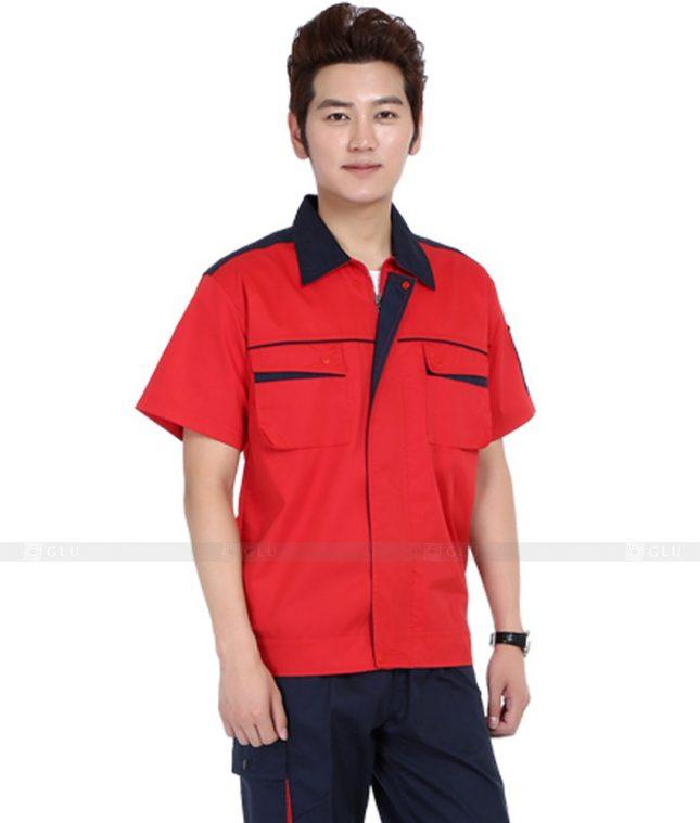 Dong phuc cong nhan GLU CN1126 mẫu áo công nhân