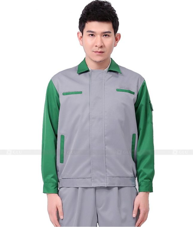 Dong phuc cong nhan GLU CN1127 mẫu áo công nhân