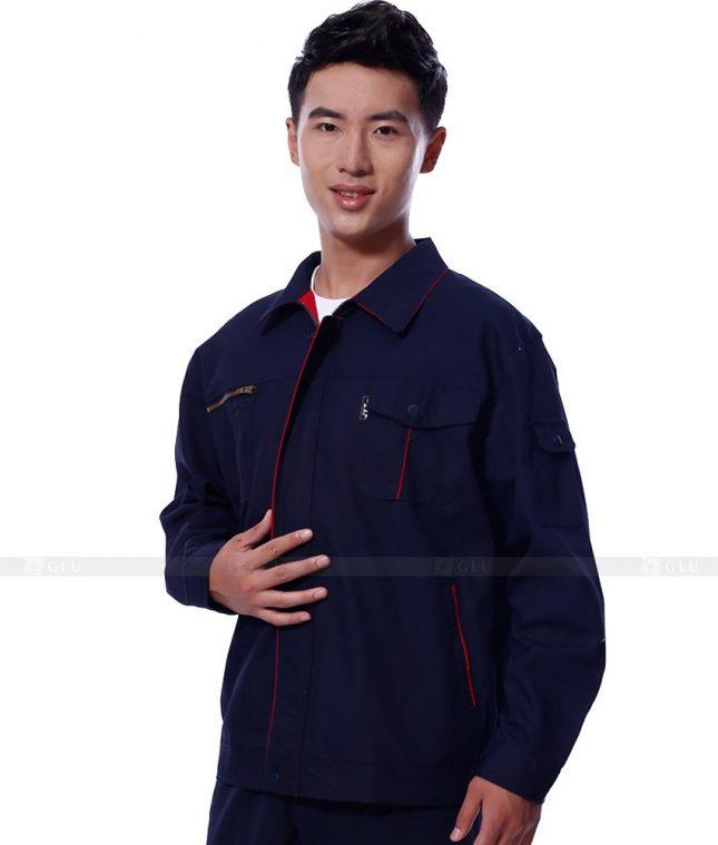 Dong phuc cong nhan GLU CN1128 mẫu áo công nhân