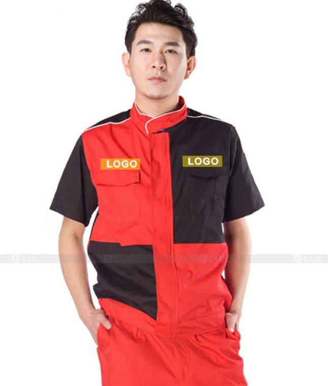 Dong phuc cong nhan GLU CN1133 mẫu áo công nhân