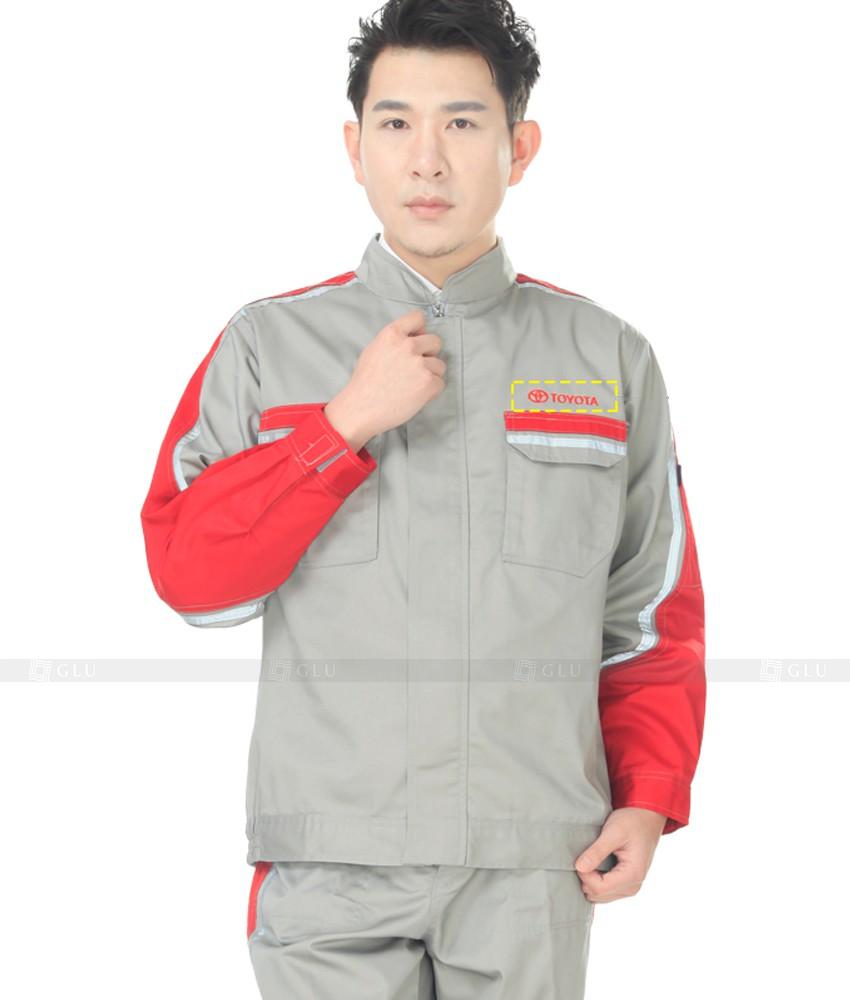 Dong phuc cong nhan GLU CN1142