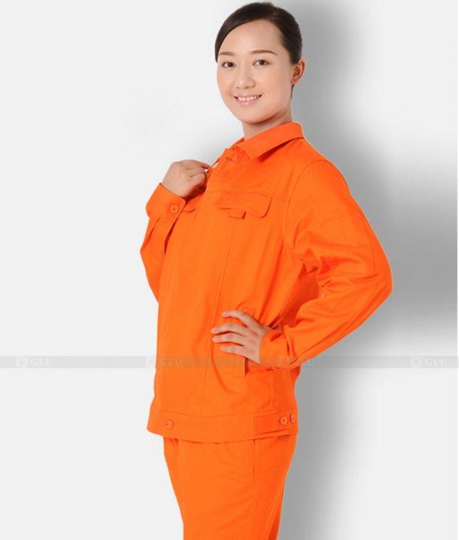 Dong phuc cong nhan GLU CN1198 mẫu áo công nhân