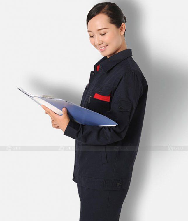 Dong phuc cong nhan GLU CN1203 mẫu áo công nhân