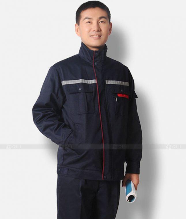 Dong phuc cong nhan GLU CN1205 mẫu áo công nhân