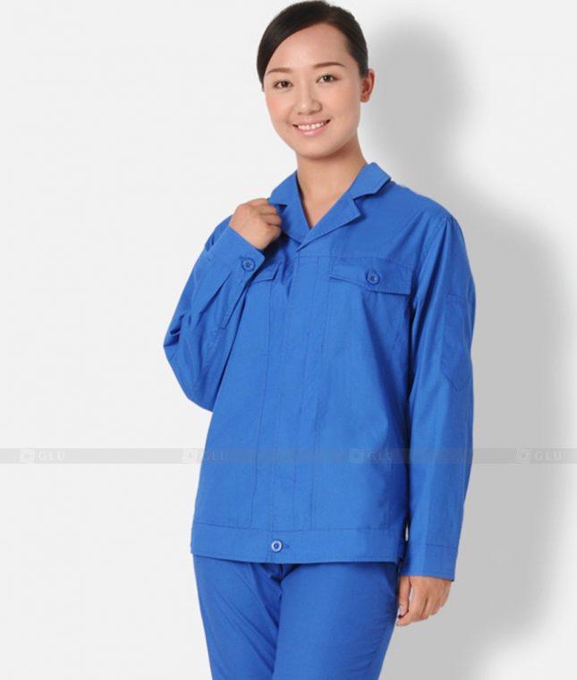 Dong phuc cong nhan GLU CN1209 mẫu áo công nhân
