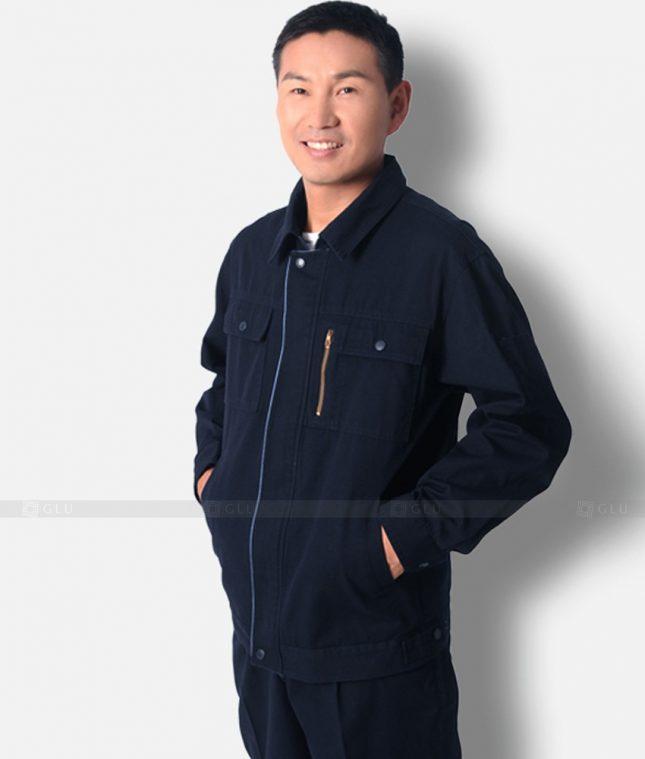 Dong phuc cong nhan GLU CN1218 mẫu áo công nhân