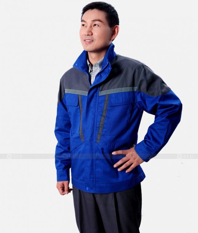 Dong phuc cong nhan GLU CN1219 mẫu áo công nhân