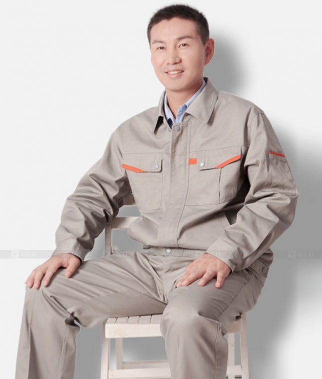 Dong phuc cong nhan GLU CN1220 mẫu áo công nhân