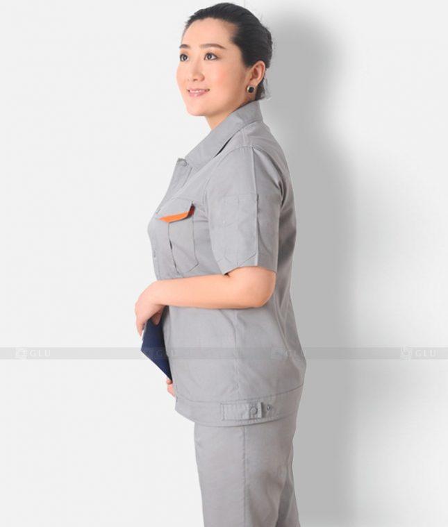 Dong phuc cong nhan GLU CN1227 mẫu áo công nhân