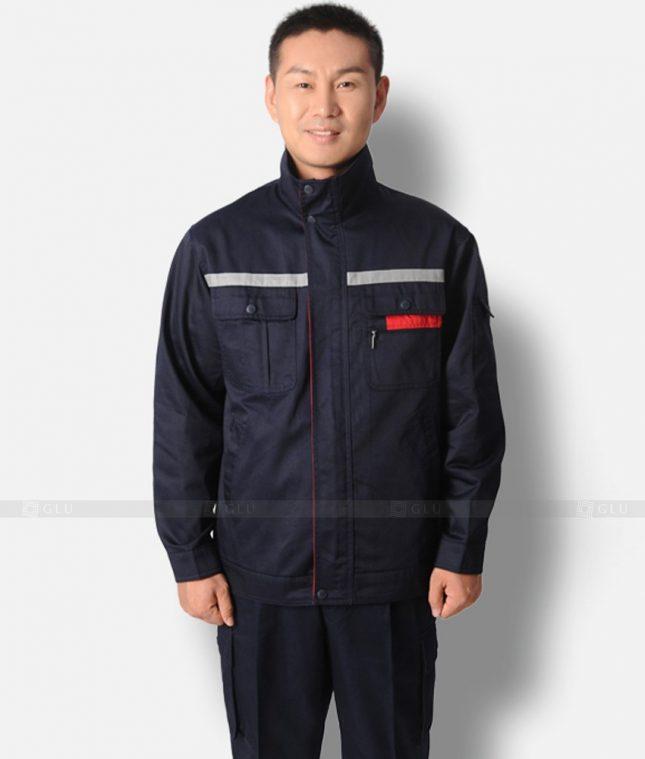 Dong phuc cong nhan GLU CN1229 mẫu áo công nhân