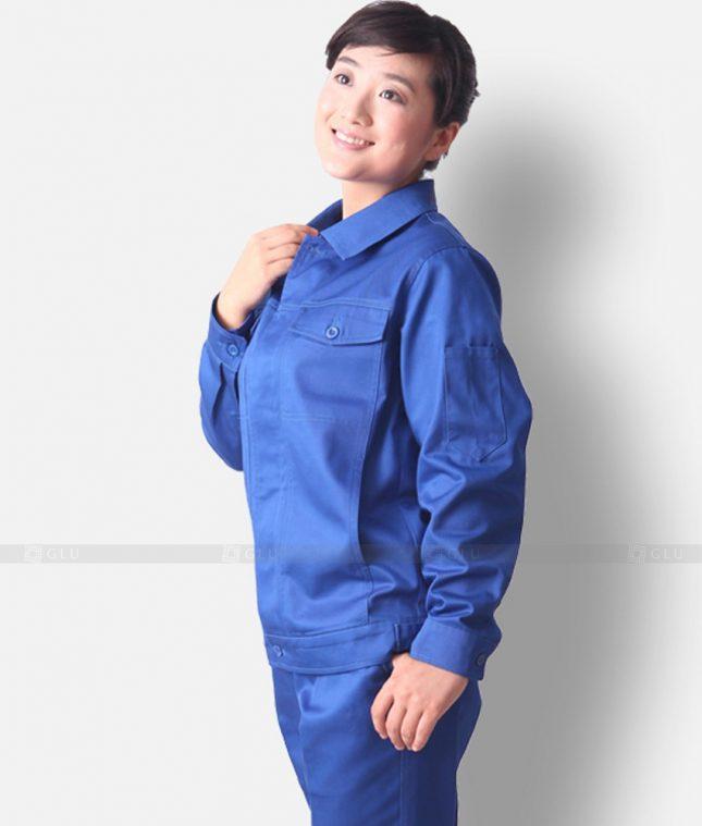 Dong phuc cong nhan GLU CN1234 mẫu áo công nhân