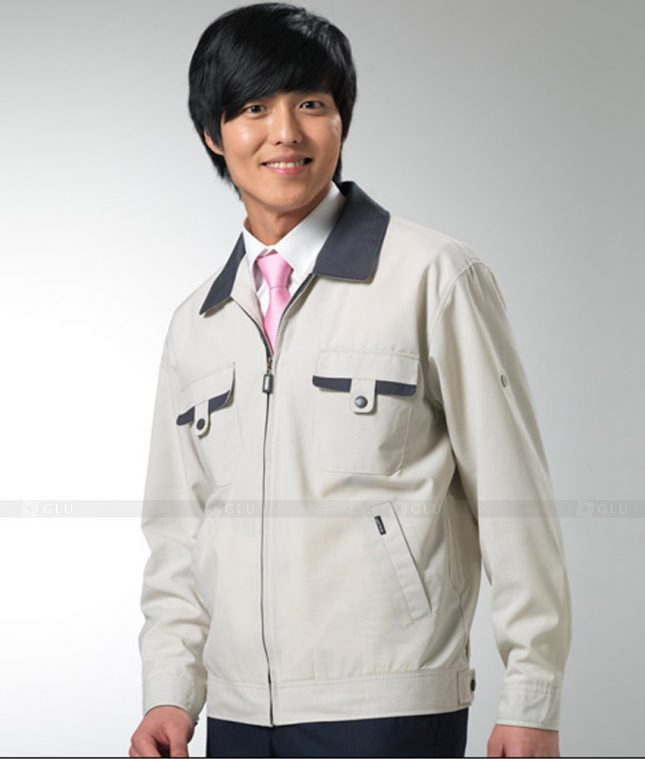 Dong phuc cong nhan GLU CN1246 mẫu áo công nhân