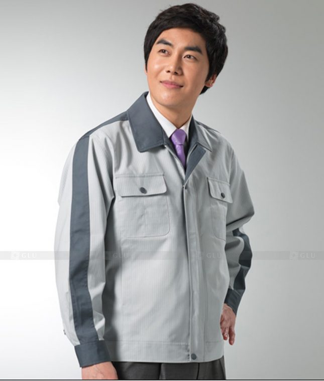 Dong phuc cong nhan GLU CN1248 mẫu áo công nhân