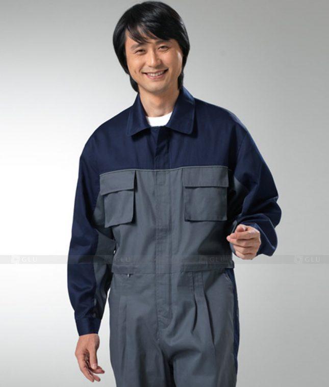 Dong phuc cong nhan GLU CN1262 mẫu áo công nhân