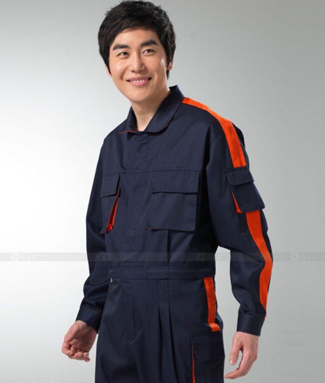 Dong phuc cong nhan GLU CN1263 mẫu áo công nhân