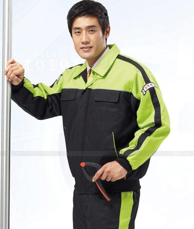 Dong phuc cong nhan GLU CN1268 mẫu áo công nhân