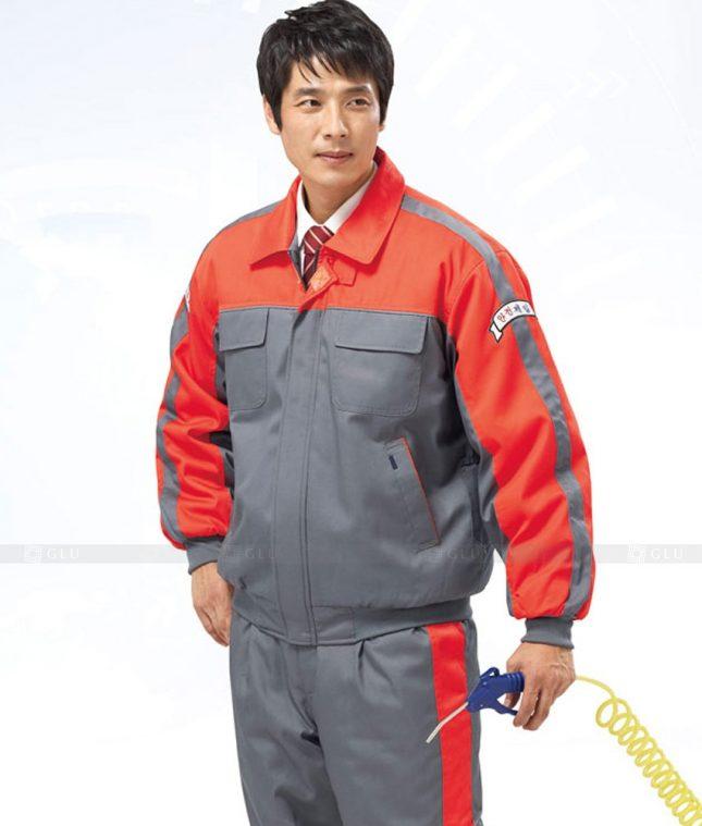 Dong phuc cong nhan GLU CN1269 mẫu áo công nhân