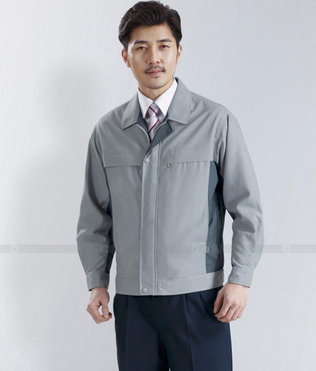 Dong phuc cong nhan GLU CN1273 mẫu áo công nhân