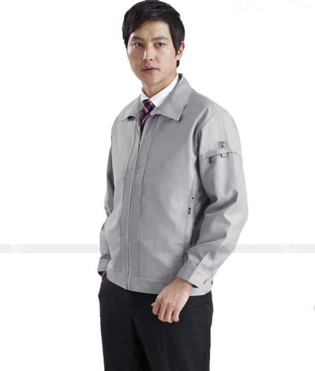 Dong phuc cong nhan GLU CN1274 mẫu áo công nhân