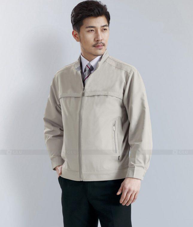 Dong phuc cong nhan GLU CN1275 mẫu áo công nhân