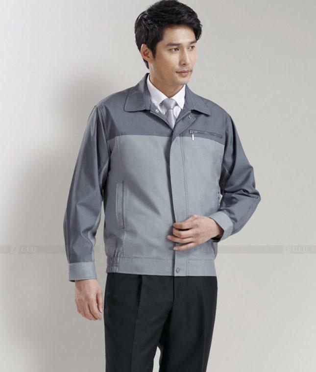Dong phuc cong nhan GLU CN1280 mẫu áo công nhân