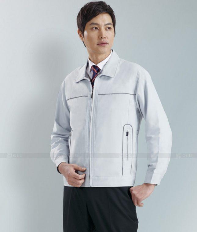 Dong phuc cong nhan GLU CN1281 mẫu áo công nhân