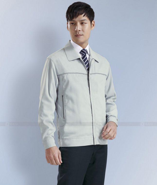 Dong phuc cong nhan GLU CN1282 mẫu áo công nhân