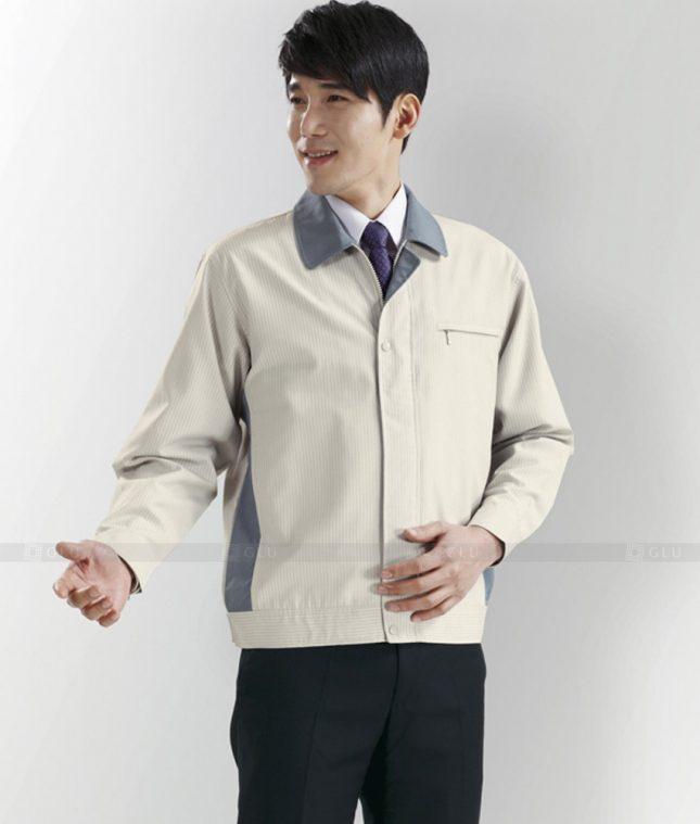 Dong phuc cong nhan GLU CN1285 mẫu áo công nhân