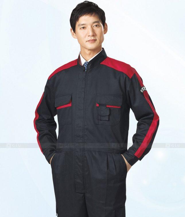 Dong phuc cong nhan GLU CN1292 mẫu áo công nhân