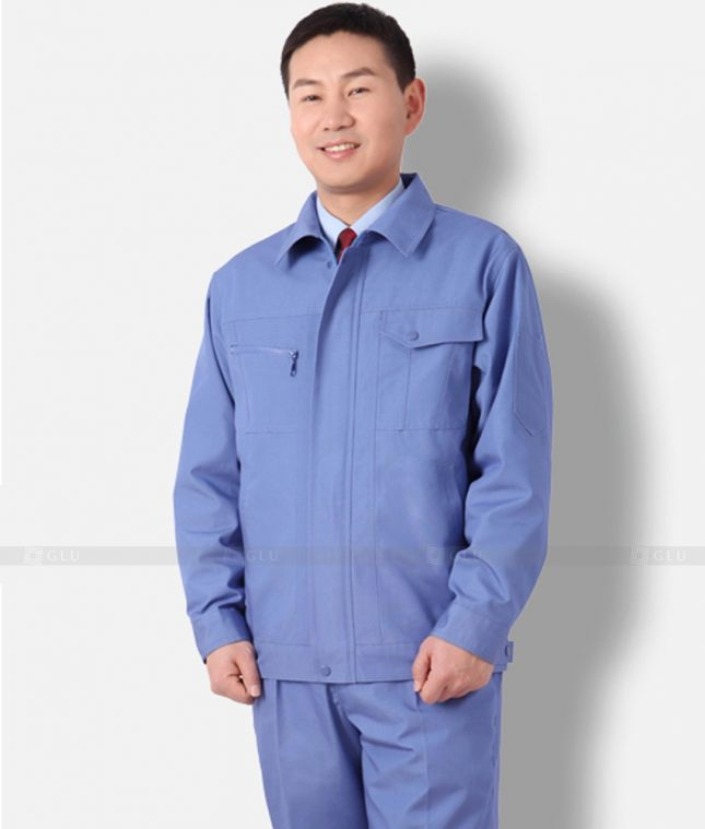 Dong phuc cong nhan GLU CN1294 mẫu áo công nhân