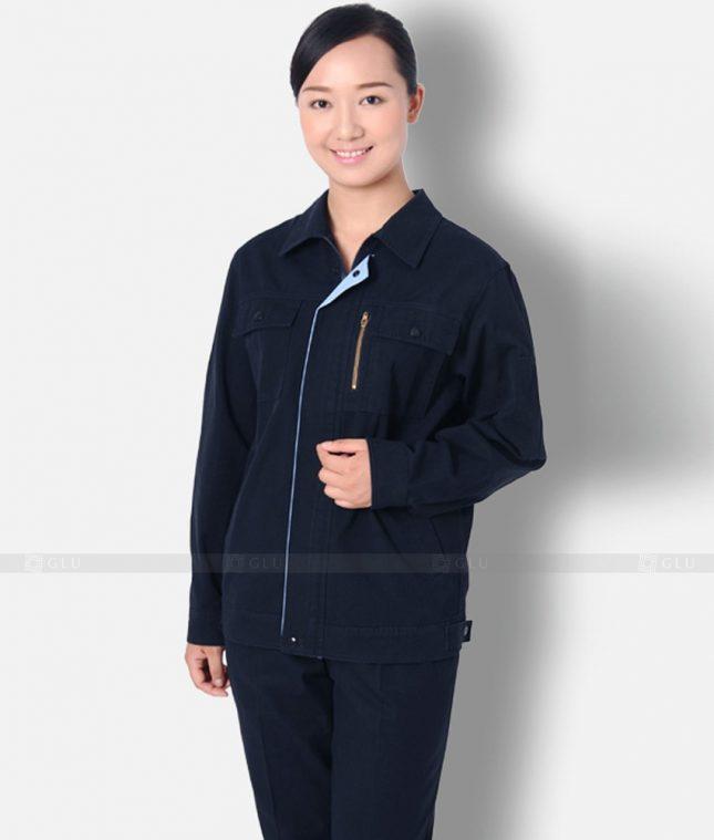 Dong phuc cong nhan GLU CN1298 mẫu áo công nhân