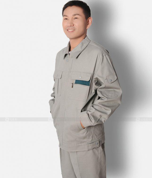 Dong phuc cong nhan GLU CN1299 mẫu áo công nhân