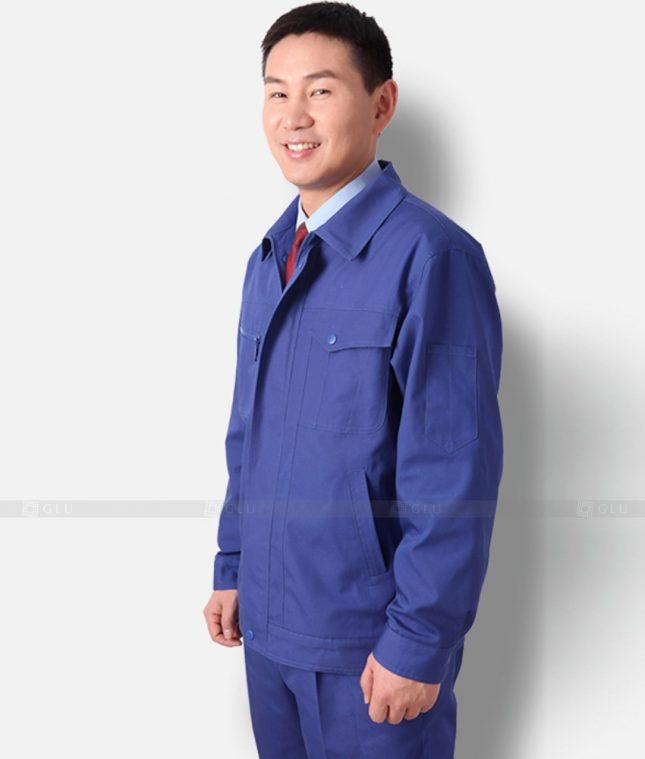 Dong phuc cong nhan GLU CN1302 mẫu áo công nhân