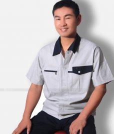 Dong phuc cong nhan GLU CN1305 Quần Áo Đồng Phục Công Nhân