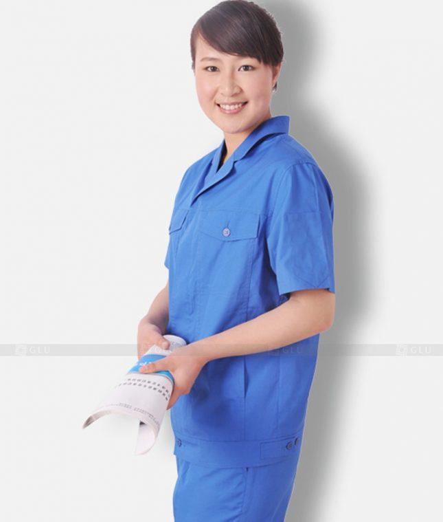 Dong phuc cong nhan GLU CN1309 mẫu áo công nhân