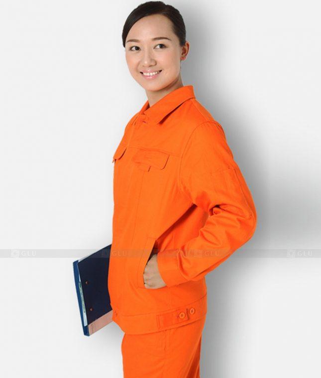 Dong phuc cong nhan GLU CN1316 mẫu áo công nhân