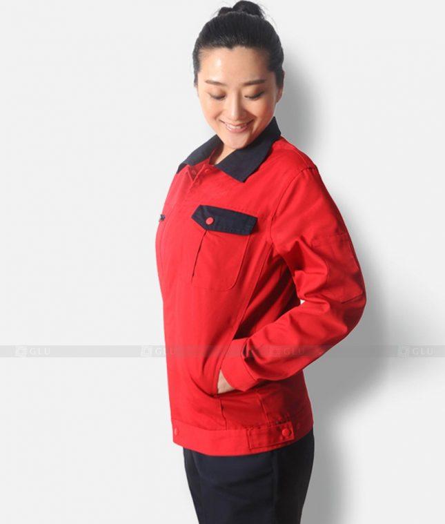 Dong phuc cong nhan GLU CN1321 mẫu áo công nhân