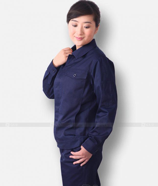Dong phuc cong nhan GLU CN1327 mẫu áo công nhân