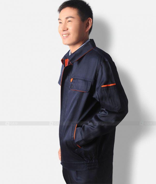 Dong phuc cong nhan GLU CN1337 mẫu áo công nhân
