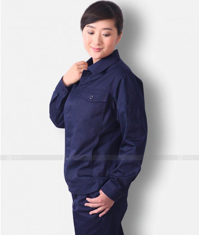 Dong phuc cong nhan GLU CN1341 mẫu áo công nhân