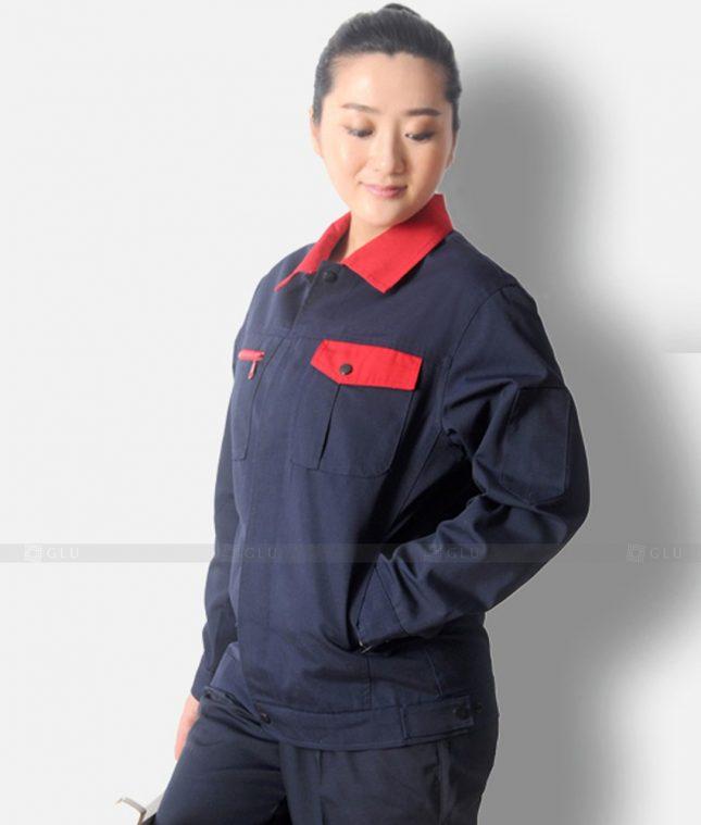 Dong phuc cong nhan GLU CN1344 mẫu áo công nhân